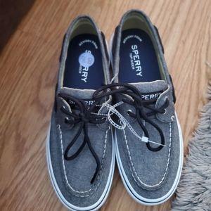 Sperry Men's Halyard 2-Eye Boat Shoe size 8.5